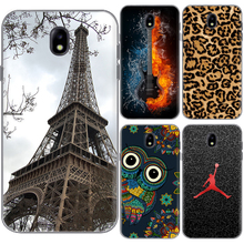 For galaxy j5 2017 J530 Soft Silicone Painted TPU Case Skin for Samsung Galaxy J3 2017 J330 J330F Patterned Cute Shell Cover