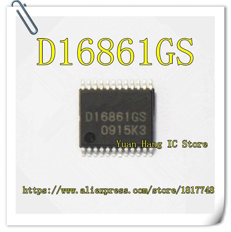 Free Shipping  5PCS/10PCS UPD16861GS D16861GS D16861 SSOP24 Auto ignition chip<br>