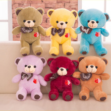 Hot Sale Plush Toys Teddy Bears Doll Stuffed Animals Soft Kids Toys Children's Gift Plush Dolls Cuddly Baby Toys MR064