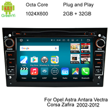 4G LTE Octa Core Android 6.0.1 Quad Core 1024*600 Car DVD Player For Opel Astra Vectra Antara Zafira Corsa GPS Navigation Radio