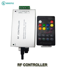 DC12V 24V 4A 12A RF LED Music Controller 18 Key RGB Wireless Remote to Control LED Strip Light