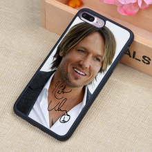 Keith Urban popular country singer Printed Soft Rubber Phone Cases For iPhone 6 6S Plus 7 7 Plus 5 5S 5C SE 4 4S Back Cover