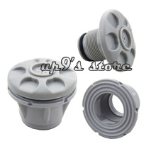 2PCS Grey Boat Release Valve Safety Air Valve Gas Nozzle for Inflatable Boat Kayak Deflate Raft