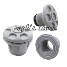 2PCS Grey Boat Release Valve Safety Air Valve Gas Nozzle for Inflatable Boat Kayak Deflate Raft(China)