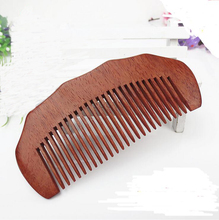 New 1 PCS Pocket Wooden Comb Super Wood Combs No Static Beard Comb Hair Styling Tool-01(China)