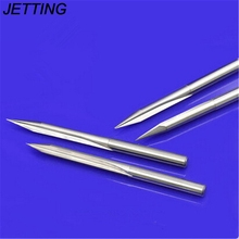 Double Flutes V Engraving Tools Straight Bits for Hardwood Cutting Kinfe Wholesale High Quality 3.175mm