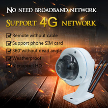 SSYING 3G/4G IP camera Sim Card CCTV panoramic TF card camera 1080P 960P  Security Video Camera