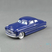100% Original Disney Pixar Cars 2 Doc Hudson 1:55 Scale Diecast Metal Alloy Kids Toy Children Racing Car Lightning McQueen(China)
