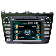 "Free Map!7"" 2Din Car DVD audio player for Mazda 6 2009-2011,with GPS,Video,USB,Bluetooth,Support Original Steering Wheel Control"