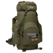 H829 Free shipping hot sale 70L support backpack with system Outdoor camping backpack