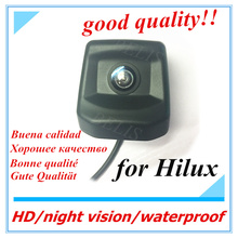 HD CCD RCA night vision Back Reverse Hole OEM Parking Reverse Camera For Toyota Hilux 2010 ~2017 Car Rear View Camera(China)