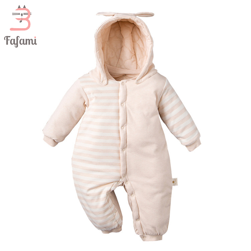Baby Clothes Winter Rompers New Year Costumes For Newborn Baby Organic Cotton baby clothing babies snowsuit snow wear jumpsuit<br>