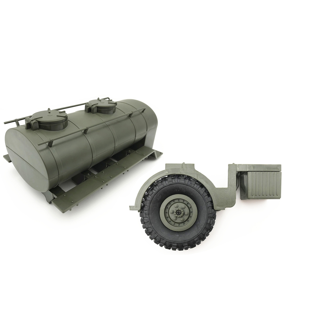 1:16 Oil Tank Tanker Spare Tire Remodel Accessory For WPL B36 B-36 RC Truck Car