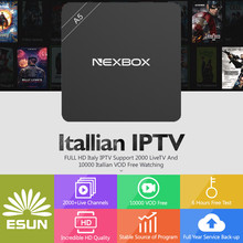 Buy Italy IPTV A5 TV Box 1 Year Configured Spain/French/Germany Albania/Italy/Portugal/EX-YU/Europe/xxx Set Top Box for $109.00 in AliExpress store