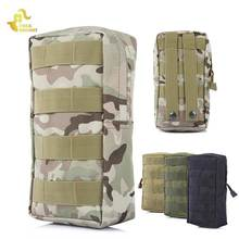Molle Pouch EDC Bag For Molle System Tactical Backpack Military Vest Sport Bag Climbing Hunting Camouflage Black Phone Pouch