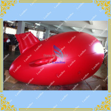 DHL FREE SHIPPING 4m(13ft) Red Inflatable Zeppelin Blimp/Inflatable airship/ Different color for your selection/No Logos