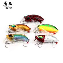 5Pcs/lot Fishing Lure Kit Crankbait Baits Pesca Jia Head Spinner Minnow Lure Fishing Hooks Set With Fishing Tackle PVC Box 39#(China)
