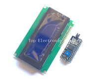 Free shipping! 2004 20x4 2004A blue screen HD44780 for arduino Character LCD /w IIC/I2C Serial Interface Adapter Module