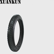 XUANKUN Motorcycle Tires 2.50-17 Inch Front Tire Rear Tire 2.50-17 Tire Tire Inner Tube Fittings