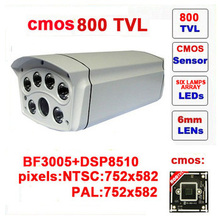 Free shipping infrared video camera security 800 tvl cctv camera with ir-cut outdoor waterproof bullet
