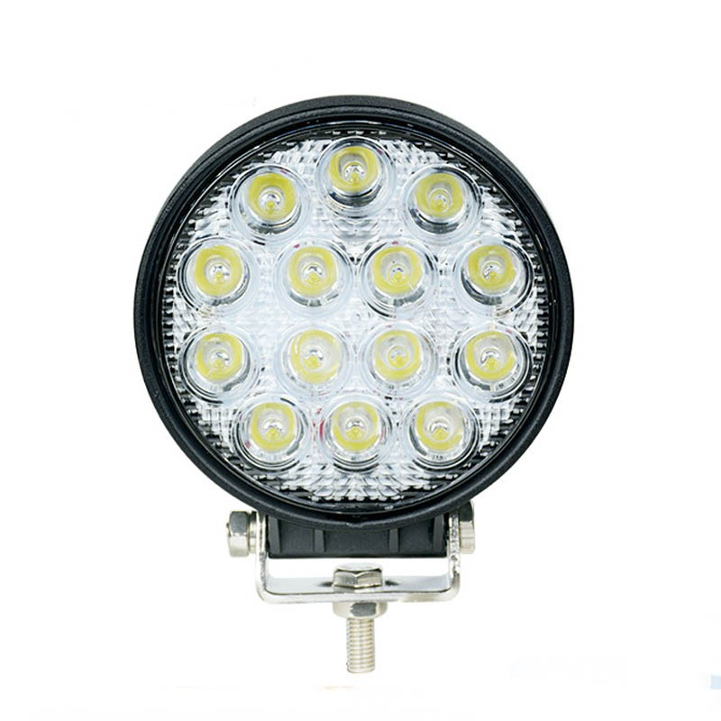 4.3 42W Off Road Led Working Light Flood Spot Beam Lamp For Car Truck Tractor Boat<br><br>Aliexpress