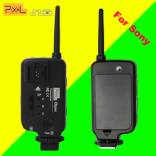 PIXEL Opas Wireless Flash Trigger Transmitter Transceiver For Sony Camera A900 A850 A750 A700 A550 A500 A380 A350 A330 A300(China)