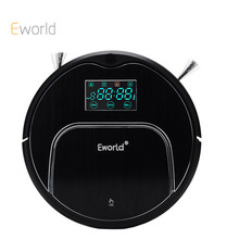 Eworld New Design M883 Robot Aspirador Vacuum Cleaner 12 Sets Senser Automatic Auto Robotic Sweeper House Floor Cleaning Machine(China)