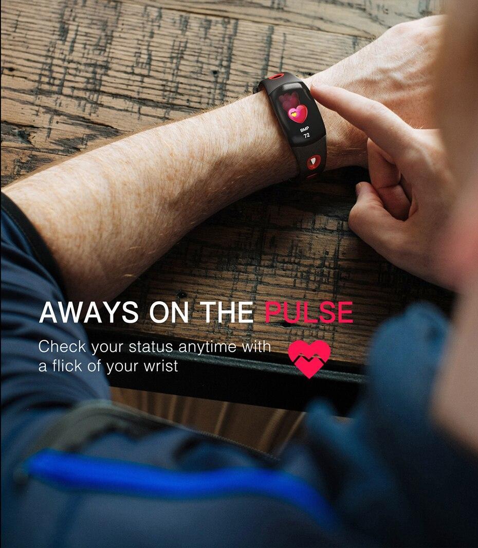 COLMI Smart band DM11 3D Dynamic UI Fitness tracker Bracelet Heart rate Monitor Wristband IP68 Waterproof 12