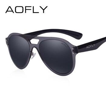 AOLFY Mode Aviation lunettes de Soleil Femmes Marque New Design Double-Pont Lentilles Cadre Lunettes De Soleil des Femmes Populaires Lunettes Hommes AF6023