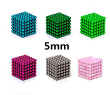 216pc5mm Magic Puzzle Cube Brain Teaser Game Sphere Magic Cube Balls Education Toy