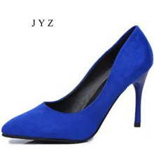2017 New Fashion Pointed Toe Platform Pumps  Womens High HeelsParty Shoes Lady Size 40 41 42 aa0296