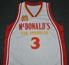 McDONALDS ALL AMERICAN BRANDON JENNIGS Mens Basketball Jersey Embroidery Stitched Customize any number and name Jerseys