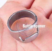 promotional gift creative round wine beer champagne bottle opener stainless steel wedding gift promotion party whcn(China)