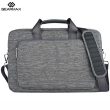 2017 GEARMAX Laptop Bag 13 14 15 17 Waterproof Nylon Laptop Case Men's Notebook Bag for Macbook Air 13 Pro Women Messenger Bags