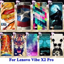 AKABEILA Plastic Painted Cover Case for Lenovo Vibe X2 Pro Shell cell phone bags Protector Covers Phone Protective Skin Capa(China)
