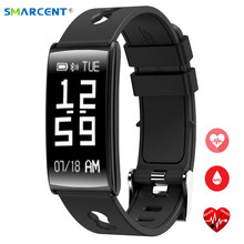 Buy SMARCENT HM68 Bluetooth Smart Band Heart Rate Blood Pressure Monitor Smart Bracelet Wristband IP67 Smartband Android IOS for $25.55 in AliExpress store
