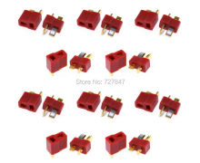 10Pairs Dean Connector T plug For ESC Battery