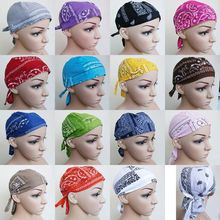 EMS OR DHL 120PCS 2017 Cotton Amoeba Pirate Hat Wrapped Head Hat Cap Baotou Hair Accessories