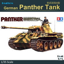 TAMIYA scale plastic model 35065 1/35 scale tank GERMAN PANTHER TANK Assembly Model kit Modle building scale tank vehicle kits