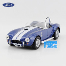 Free Shipping/1:32 Scale/Ford 1965 Shelby Cobra 427 S/C /Classical Vintage Educational Model/Pull back Diecast Metal toy car/New