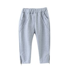 Spring Autumn Casual Trousers Baby Pants  Kid Boy Bottoms Pants Toddler Child Baby Elastic Sweatpants  2-7Y