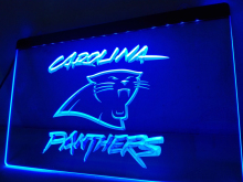 LD066- Carolina Panthers Super Bowl Bar LED Neon Light Sign