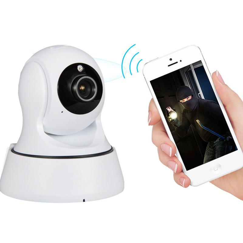 2017 Surveillance Cameras Wifi Safety Cameras Hd Wireless Network Card Security Protection<br>