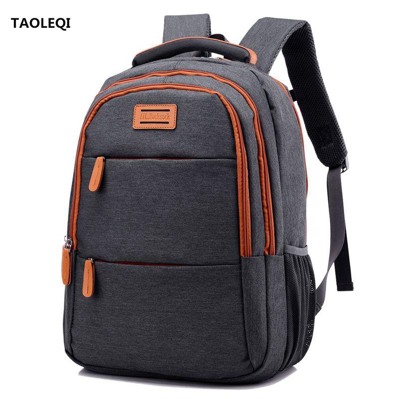 TAOLEQI Mens Anti-theft Backpack Travel bag Backpacks Fashion Men Women 15 inch Laptop Computer Bag Rucksack Mochila School bag<br>