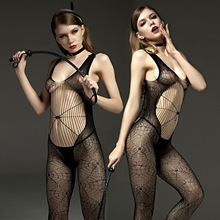 Buy Hot women Sexy Bodystockings black Sex nightwear Sex toys underwear sleepwear intimates Kimono Sex products crotchless Teddies