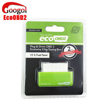 New Plug and Drive EcoOBD2 Economy Chip Tuning Box for Benzine 15% Fuel Save Less Fuel and Less Emission Free Shipping