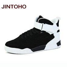 2a4d47030237 JINTOHO Мужские ботинки Стиль Скейтбординг обувь мужские полусапоги вырезы  дышащие мужские кроссовки 9908 Для мужчин