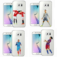 Coque Sport Football Soccer Star Ronaldo Messi Paulo Dybala pogba Soft TPU Phone Case Cover for Samsung S5 S6 S7 Edge J5 J7 2016(China)