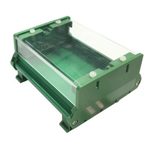 UM72 PCB length: 251-300mm pcb plastic instrument case enclosure electronics case with flat cover H=22.5mm