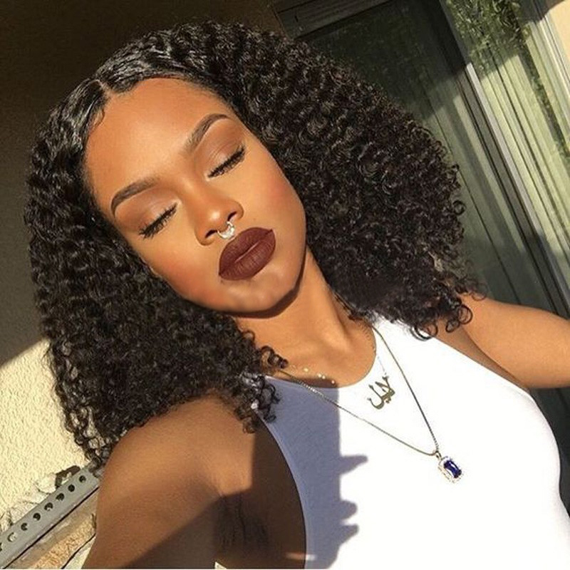 Full Lace Human Hair Wigs 150% Density Preplucked Lace Front Wig 7A Loose Deep Curly Lace Front Human Hair Wigs For Black Woman<br><br>Aliexpress